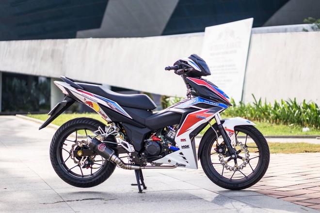 Honda Winner 150 dan tem phong cach moto phan khoi lon o Da Nang hinh anh 1