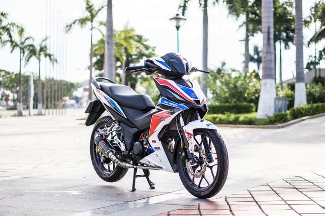 Honda Winner 150 dan tem phong cach moto phan khoi lon o Da Nang hinh anh 6