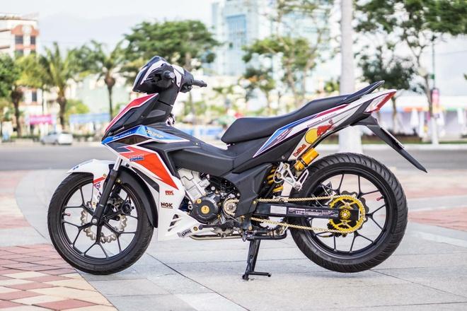 Honda Winner 150 dan tem phong cach moto phan khoi lon o Da Nang hinh anh