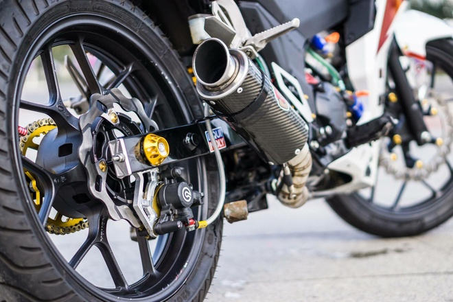 Honda Winner 150 dan tem phong cach moto phan khoi lon o Da Nang hinh anh 5
