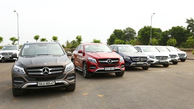 Dan Mercedes-Benz tu hoi o Ha Noi anh 2