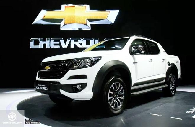 Chevrolet Colorado 2017 co gia tu 700 trieu dong tai Indonesia hinh anh 1