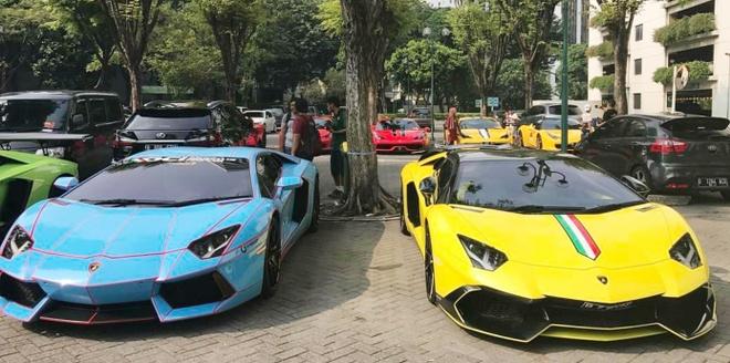 Bai do voi dan sieu xe cua dai gia Indonesia hinh anh 4