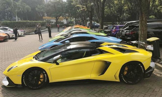 Bai do voi dan sieu xe cua dai gia Indonesia hinh anh 2