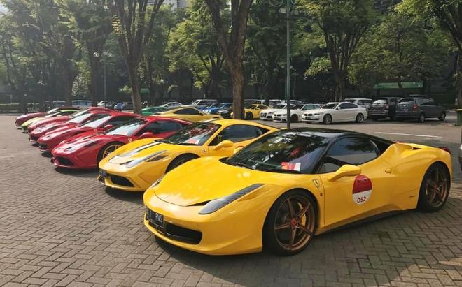 Bai do voi dan sieu xe cua dai gia Indonesia hinh anh 5