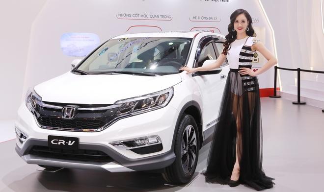 Giam gia manh, Honda CR-V tro lai top 10 oto ban chay nhat thang hinh anh