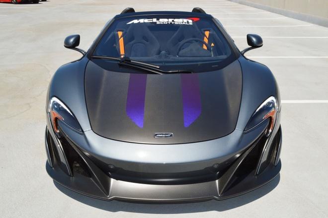 McLaren 675LT Spider do chinh hang co gia ban hon 487.000 USD hinh anh 5