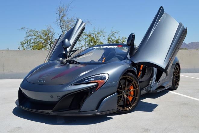 McLaren 675LT Spider do chinh hang co gia ban hon 487.000 USD hinh anh