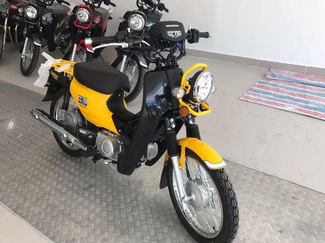 Xe doc Honda Cross Cub 110 2017 dau tien ve Viet Nam hinh anh 5
