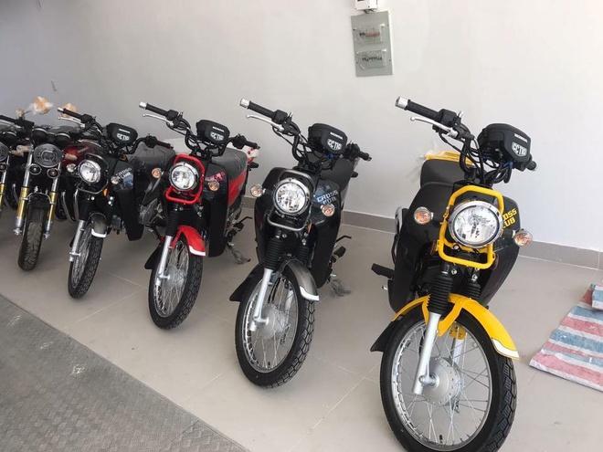 Xe doc Honda Cross Cub 110 2017 dau tien ve Viet Nam hinh anh 1