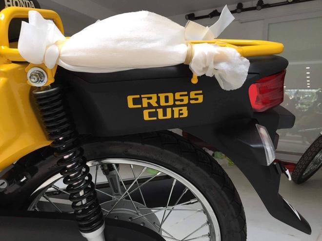 Xe doc Honda Cross Cub 110 2017 dau tien ve Viet Nam hinh anh 4