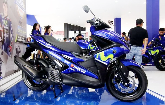 Yamaha NVX 155 Movistar co gia ban 41,5 trieu dong o Indonesia hinh anh 1