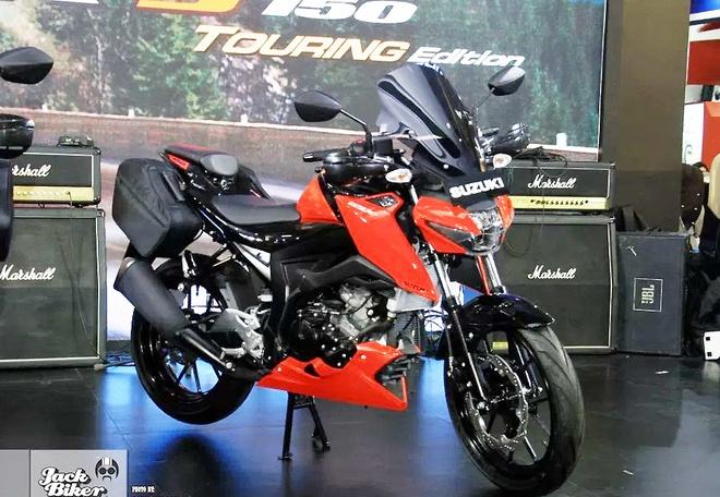 Suzuki GSX-S150 ban duong truong gia gan 1.900 USD o Indonesia hinh anh 2
