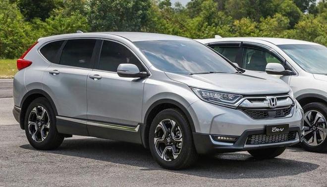 Honda CR-V 7 cho lo gia ban 1,1 ty dong o Viet Nam hinh anh