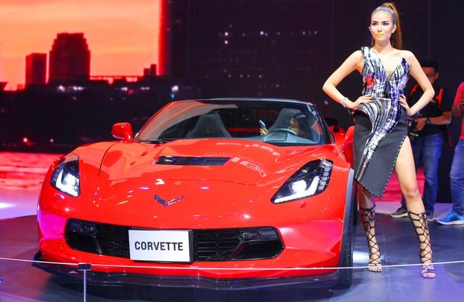 Chevrolet Corvette Grand Sport - xe the thao hiem hoi o VMS 2017 hinh anh