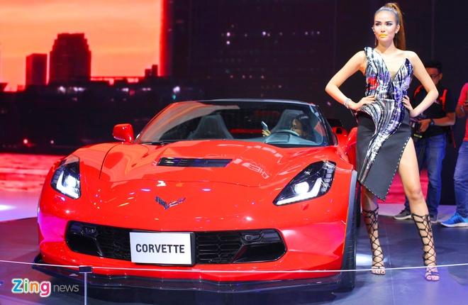 Chevrolet Corvette Grand Sport - xe the thao hiem hoi o VMS 2017 hinh anh 1