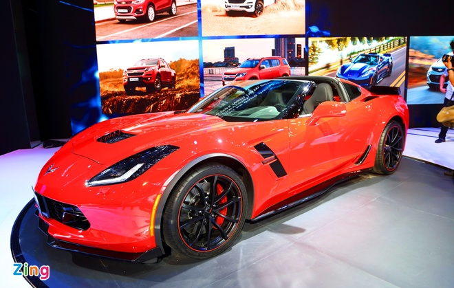 Chevrolet Corvette Grand Sport - xe the thao hiem hoi o VMS 2017 hinh anh 3