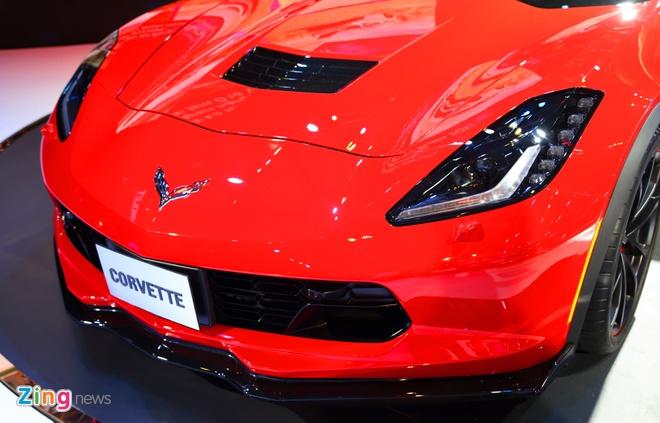 Chevrolet Corvette Grand Sport - xe the thao hiem hoi o VMS 2017 hinh anh 4