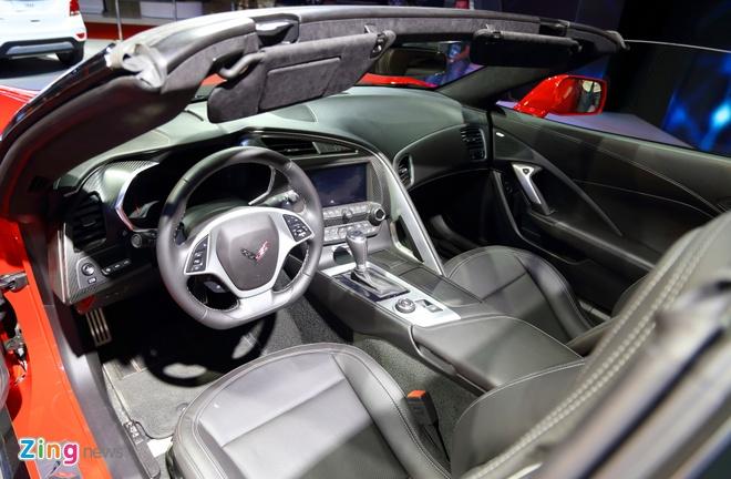 Chevrolet Corvette Grand Sport - xe the thao hiem hoi o VMS 2017 hinh anh 7