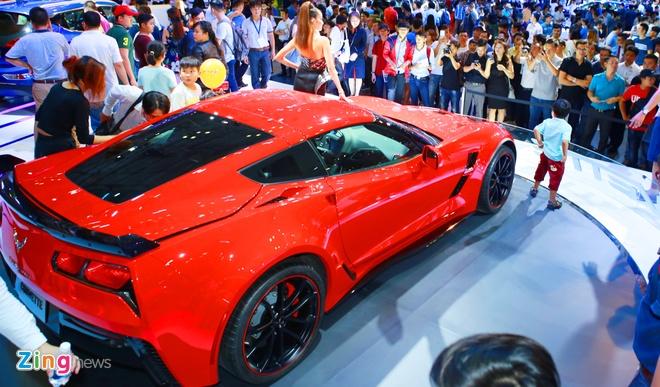 Chevrolet Corvette Grand Sport - xe the thao hiem hoi o VMS 2017 hinh anh 2