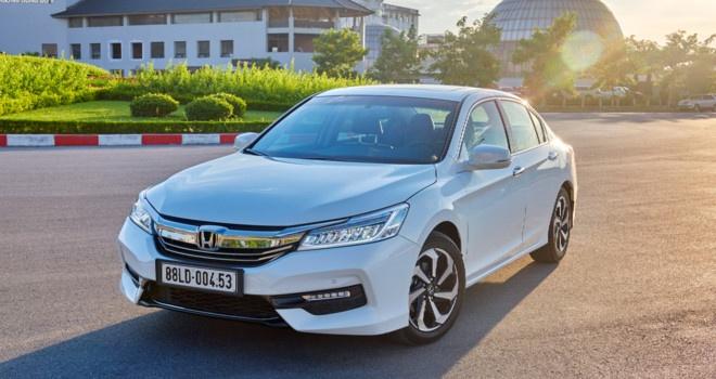 Honda CR-V va Accord giam gia gan 200 trieu dong o Viet Nam hinh anh