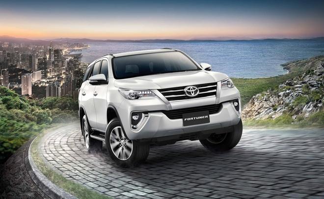 Toyota Fortuner 2.4V 4WD co gia ban 45.000 USD o Thai Lan hinh anh 1