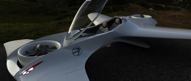 Oto bay phong cach xe dua F1 hinh anh 3