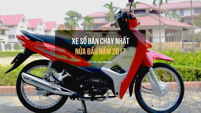 8 xe so ban chay nhat nua dau 2017 o Viet Nam hinh anh