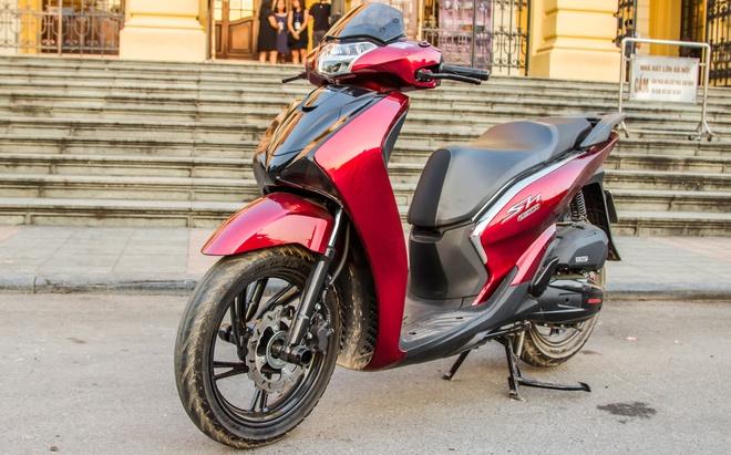 Honda SH Viet gan bodykit phong cach SH 300i hinh anh 1