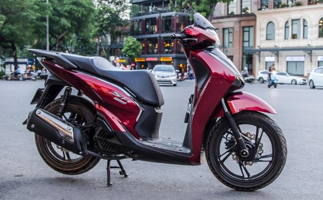 Honda SH Viet gan bodykit phong cach SH 300i hinh anh