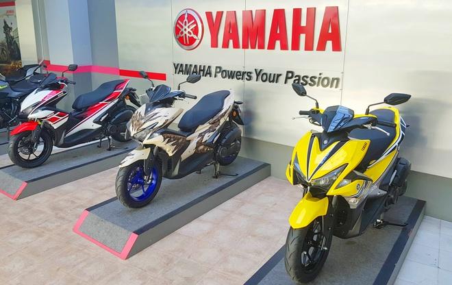 Bo 3 Yamaha NVX 155 gan tem dac biet hinh anh 1