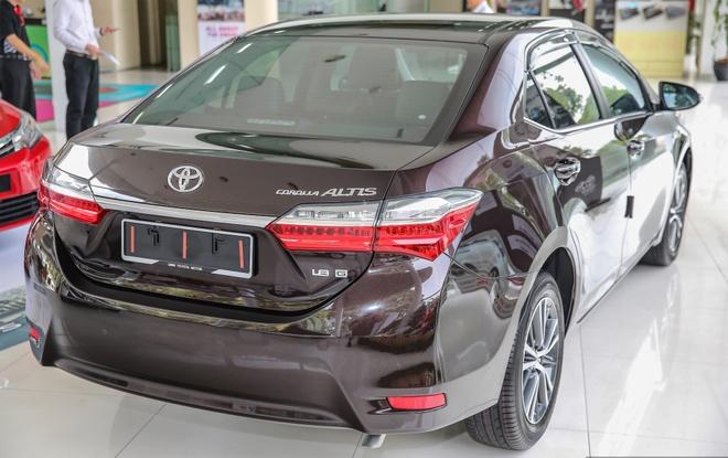 Toyota Corolla Altis 2017 co gia hon 28.000 USD o Malaysia hinh anh 2