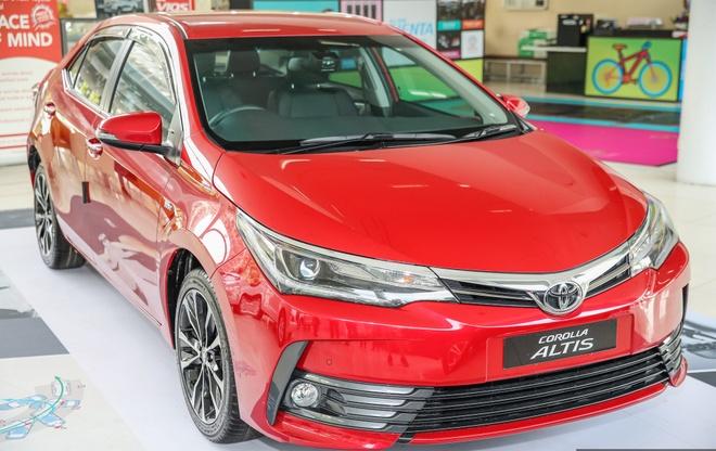 Toyota Corolla Altis 2017 co gia hon 28.000 USD o Malaysia hinh anh 3