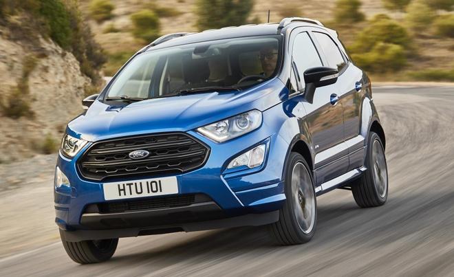 Ford EcoSport ban nang cap co them dong co diesel o chau Au hinh anh