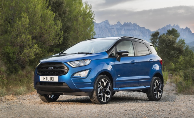 Chi tiet Ford Ecosport facelift danh cho thi truong chau Au hinh anh