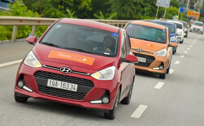 Hyundai Grand i10 lap rap trong nuoc: Chay em, dang chua mem mai hinh anh 2