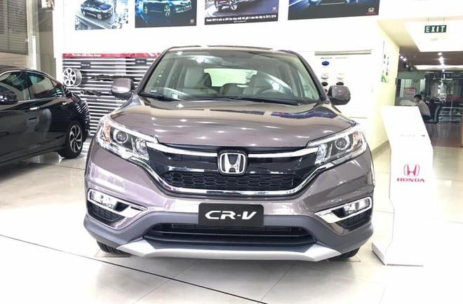 Honda CR-V dai ha gia: Mot tuan nao loan thi truong oto Viet hinh anh