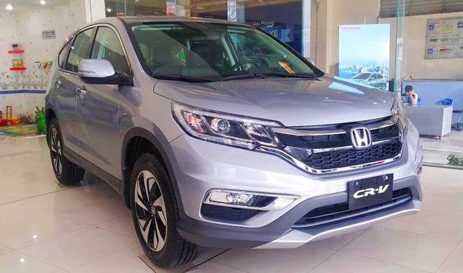 Honda CR-V giam gia sau o Viet Nam anh 2