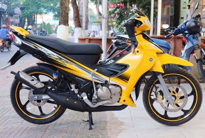 Yamaha 125zr 2016