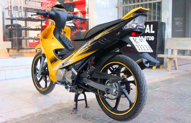 Yamaha 125ZR bien ngu quy rao ban 450 trieu o Sai Gon hinh anh
