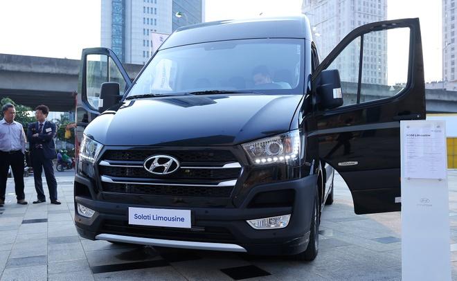 Thanh Cong phan phoi xe tai, xe buyt Hyundai tai Viet Nam hinh anh
