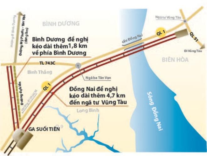Dong Nai, Binh Duong muon ket noi metro TP HCM hinh anh 2