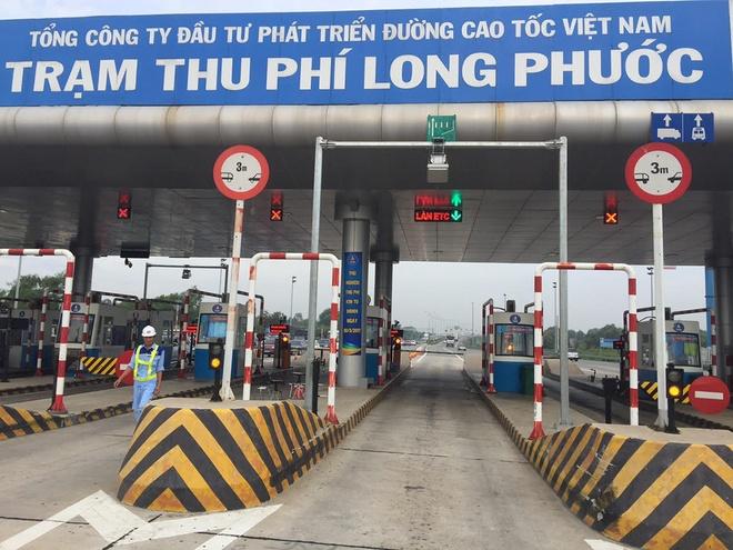 Thu phi bang the dien tu tren cao toc TP.HCM - Long Thanh hinh anh 1
