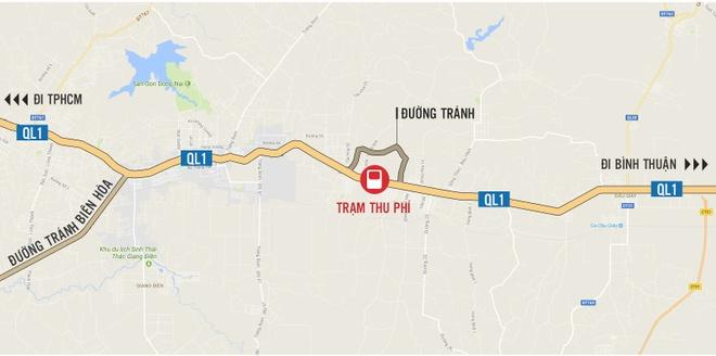 Dong Nai kien nghi doi tram thu phi tren quoc lo 20, giam gia ve BOT hinh anh 2