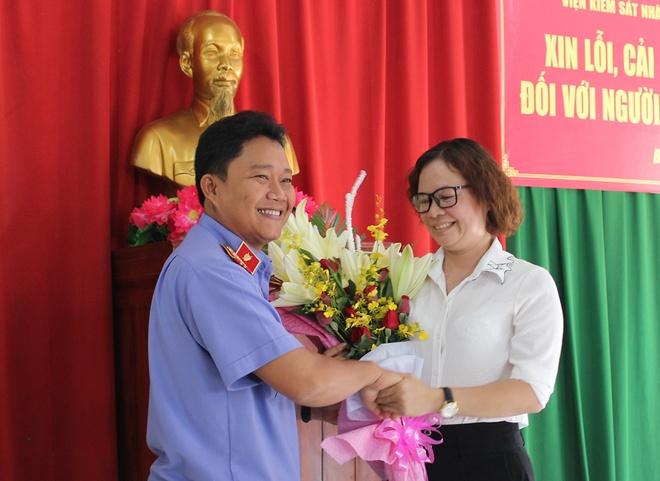 VKSND xin loi nguoi phu nu 40 tuoi bi truy to oan hinh anh 2