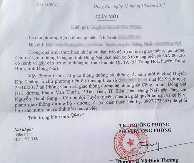 Duong thang tien cua ong Vo Dinh Thuong, Pho phong CSGT Dong Nai hinh anh 2