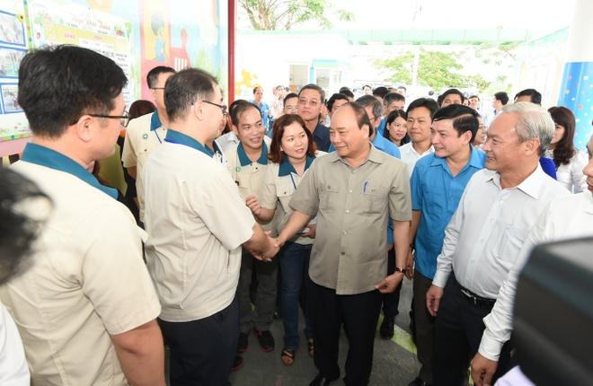 Thu tuong: 'Chat luong bua an cong nhan co dam bao khong?' hinh anh