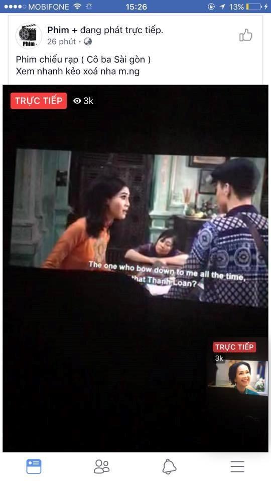 Cong an vao cuoc vu phim Co Ba Sai Gon bi livestream trai phep hinh anh 2