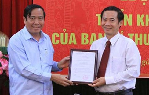 Ong Nguyen Thai Hoc duoc bo nhiem lam Pho ban Noi chinh Trung uong hinh anh