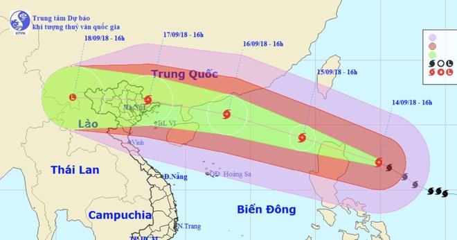 Ha Noi len ke hoach ung pho sieu bao Mangkhut hinh anh 1